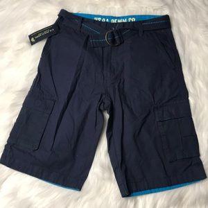 US Polo Association Boys Cargo Shorts (EM) NEW